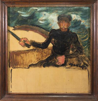 Portrait d'un homme de la mer de David Ossipovitch Widhopff