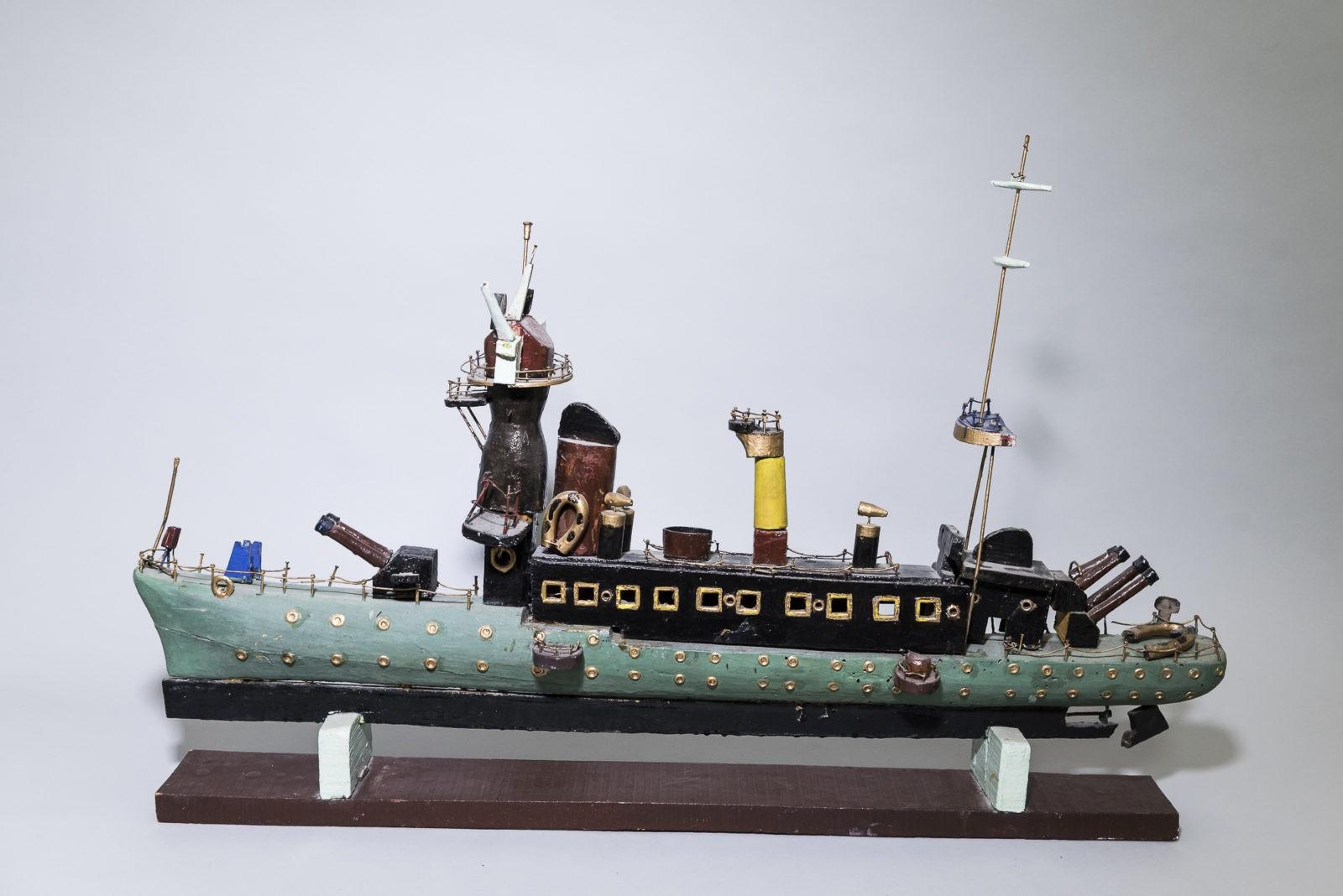 Maquette torpilleur