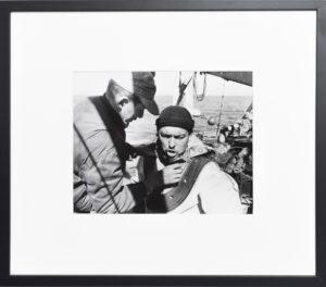 Portrait d'un scaphandrier américain